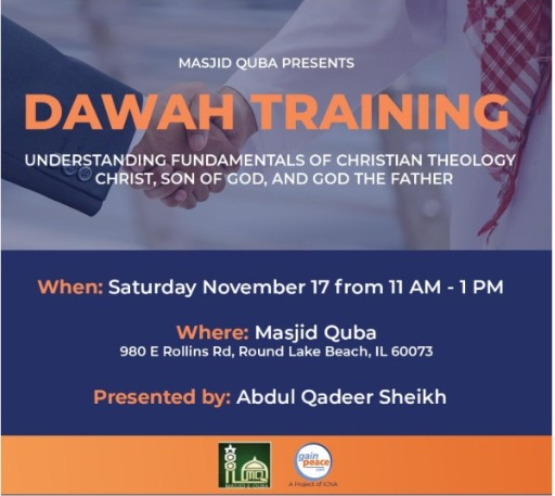 Dawah training Nov 2018